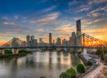 QLD-BRIS-Storybridge-Sunset