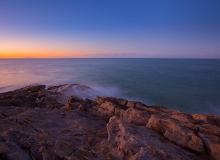 QLD-Straddie-RockyPoint-Sunset-Water-Rocks[0L3A4477]
