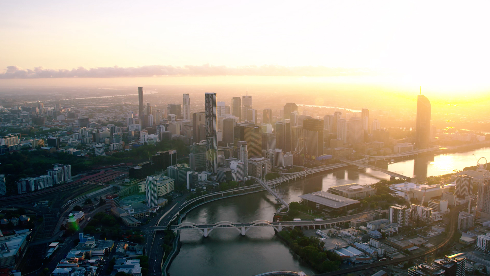 Brisbane (from above)